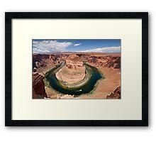 Horseshoe Bend in Arizona Framed Print