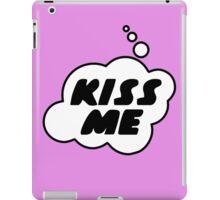 Kiss Me by Bubble-Tees.com iPad Case/Skin