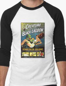 Creature From The Black Lagoon Men's Baseball ¾ T-Shirt