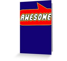 Awesome by Bubble-Tees.com Greeting Card