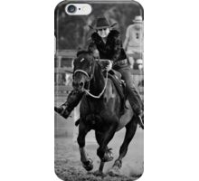 Go for it, girl !   BW iPhone Case/Skin