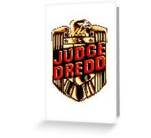 Judge Dredd Greeting Card