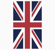 British, Union Jack, Flag portrait, 3:5, UK, Britain, United Kingdom, Army, War Flag, Pure & Simple Kids Clothes