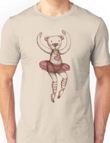 Ballerina Teddy Unisex T-Shirt