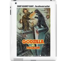 Godzilla Vs Megalon iPad Case/Skin