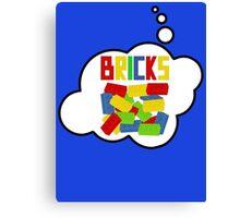 Bricks, Bubble-Tees.com Canvas Print