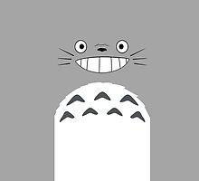Totoro by tomatosoups
