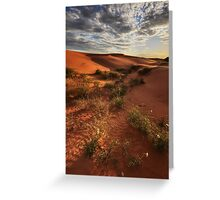 Perry Sand Dunes Greeting Card