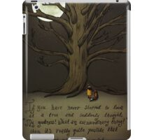 Trees (Fox and Girl) iPad Case/Skin