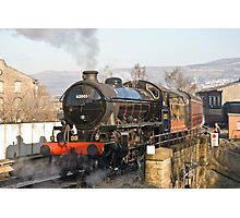 Keighley Steam Photographic Print