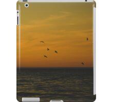 Sunset on Lake Michigan iPad Case/Skin