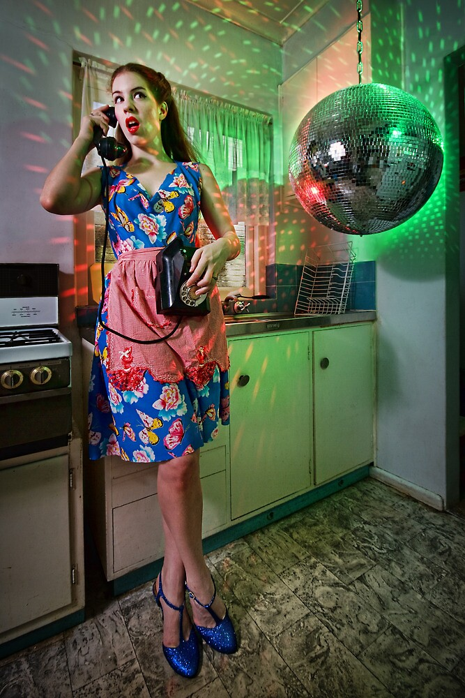 ATTACK OF THE MUTANT DISCO BALL!!! by Ben Ryan