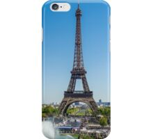 Eiffel Tower On A Sunny Day iPhone Case/Skin