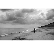 Dunwich Beach in Winter Photographic Print
