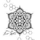 Tattoos by Scott White mandala design by Scott White