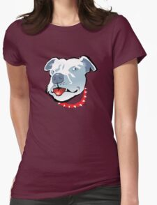 The Collar Womens Fitted T-Shirt