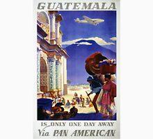 Guatemala Vintage Travel Poster Restored T-Shirt
