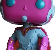 Funko Pop! Age of Ultron Vision by jcartwork05
