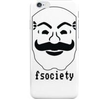 Mr robot - F Society iPhone Case/Skin