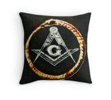 Freemason by Pierre Blanchard Throw Pillow