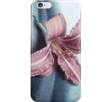 Serene Lily iPhone Case/Skin
