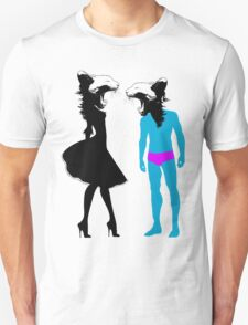 girls girls girls Unisex T-Shirt