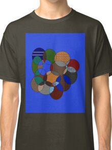 colourful rings Classic T-Shirt