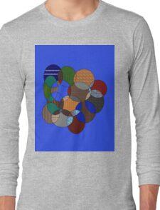 colourful rings Long Sleeve T-Shirt