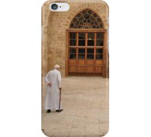 Muslim man iPhone Case/Skin
