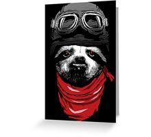 Adventure Sloth Greeting Card