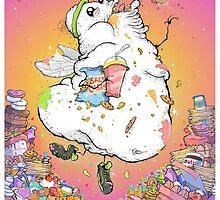 Angel of Gluttony! by Locombiana