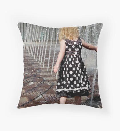 water baby 2 Throw Pillow