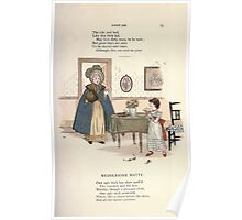 LIttle Ann and Other Poems by Jane and Ann Taylor art Kate Greenaway 1883 0029 Medelsome Matty Poster