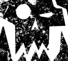 Ork Glyph Black Sticker