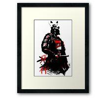 Shinigami Samurai Framed Print