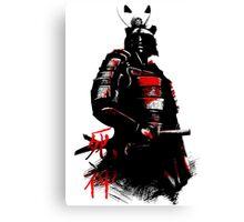 Shinigami Samurai Canvas Print