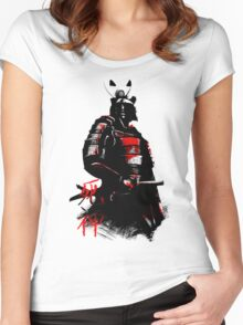 Shinigami Samurai Women's Fitted Scoop T-Shirt