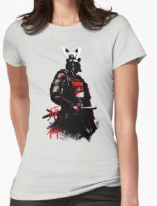 Shinigami Samurai Womens Fitted T-Shirt