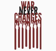 War Never Changes Kids Tee