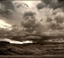 The View Into Lesotho by micklyn
