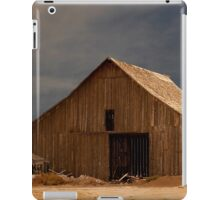 An Old Barn in Rural California iPad Case/Skin