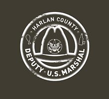 Harlan County Deputy US Marshal Grunge T-Shirt