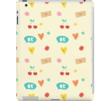 Happy Pattern iPad Case/Skin