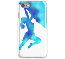 bouldering ecstacy (blue) iPhone Case/Skin