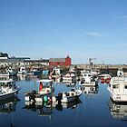 Rockport Reflections, please view large! by Linda Jackson