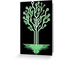 Tree of Technological Knowledge Greeting Card
