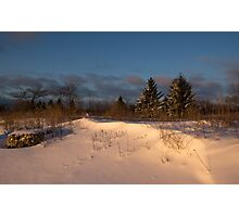 The Morning After the Snowstorm Photographic Print