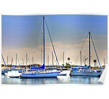 Yacht Basin Poster