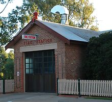 Nsw Fire Brigades Gulgong Station by rossco