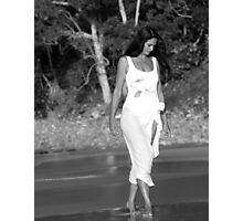 A Reflective Moment - Annique Azure - Model - Artist - Sunshine Coast - Queensland - Australia Photographic Print